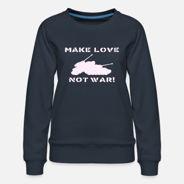 Anti War ANTI WAR - Women's Premium Sweatshirt
