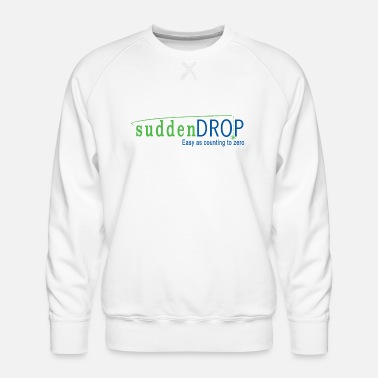 SuddenDrop easy as counting to zero - Men's Premium Sweatshirt