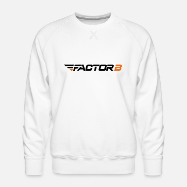 Factor B FBW Logo Colour HR - Men's Premium Sweatshirt