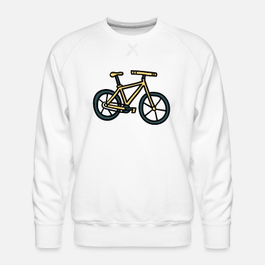 Comic bike - Men's Premium Sweatshirt