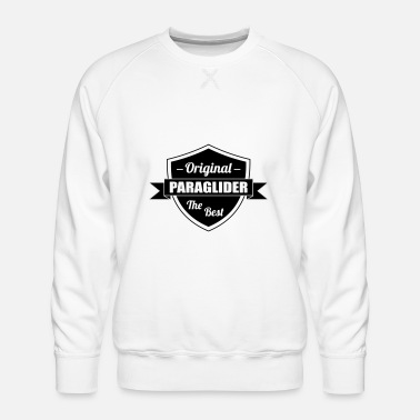 Comic The best Paraglider - Men's Premium Sweatshirt