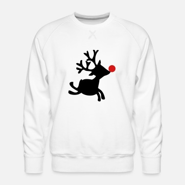 Rudolph The Red Nosed Reindeer rudolph the red nosed reindeer right - Men's Premium Sweatshirt