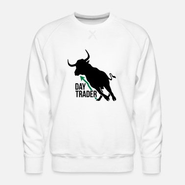 Day trader - Men's Premium Sweatshirt