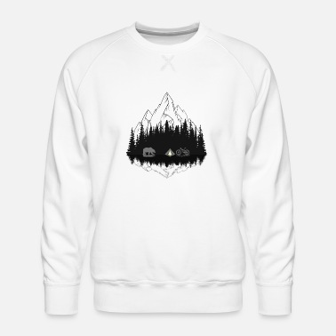 Mountains Camping - Men's Premium Sweatshirt