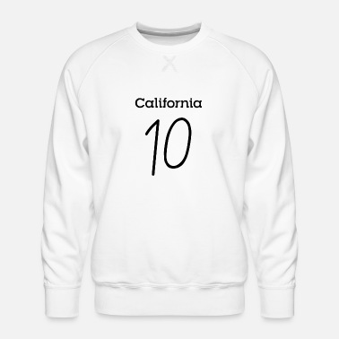 Deluxe California 10 T Shirts and Products - Men's Premium Sweatshirt