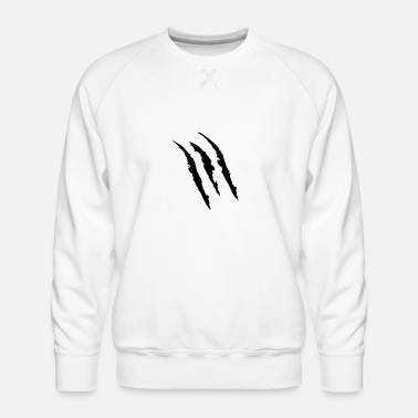 Mark-something Claw Marks - Men's Premium Sweatshirt