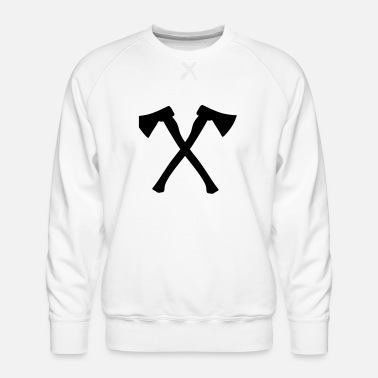 Axe ax - axe - Men's Premium Sweatshirt
