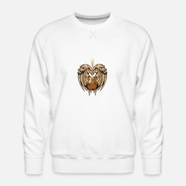 Angel's Wings Angel's Music - Men's Premium Sweatshirt