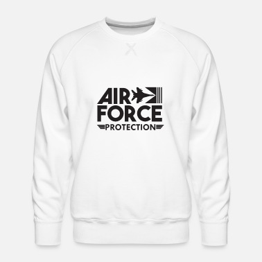 Numbered Air Force Air Force Protection - Air Force - Men's Premium Sweatshirt