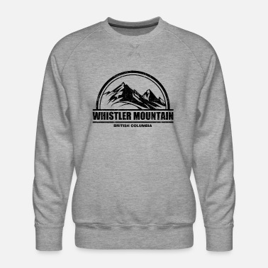 Whistler Canada Whistler Mountain - Men's Premium Sweatshirt