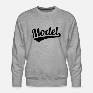 Model Model - Men's Premium Sweatshirt
