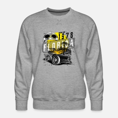 Motor Race florida motor club - Men's Premium Sweatshirt