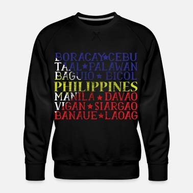 Pacific Philippines Ancestry gift idea - Men's Premium Sweatshirt
