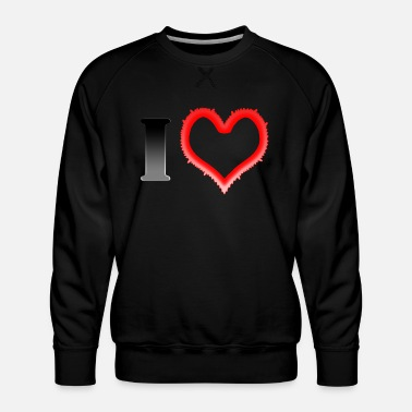 I Heart I Heart... - Men's Premium Sweatshirt