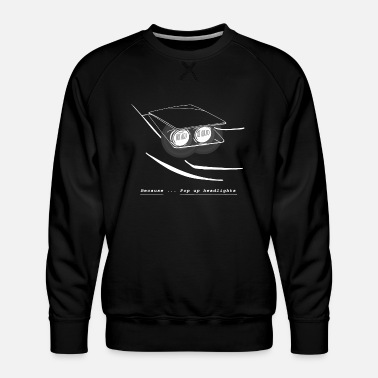 Headlights Pop Up headlights - Men's Premium Sweatshirt