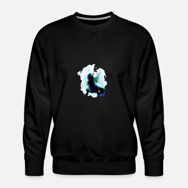 Baikal Seal Seal Walrus Sea Lion Marine Mammal Sea Animal Gift - Men's Premium Sweatshirt