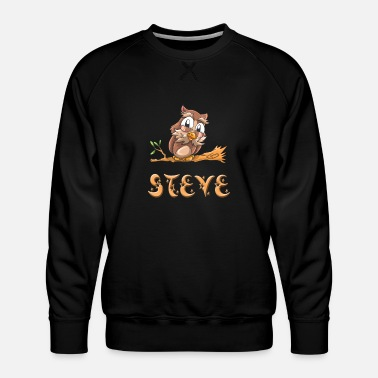 Steve Presents Steve Owl - Men's Premium Sweatshirt