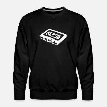 Cassette Vintage Cassette Tape Cool Music - Men's Premium Sweatshirt
