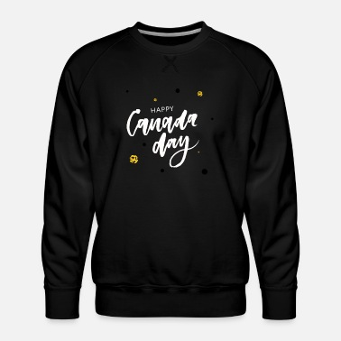Canada Happy Canada Day - Men's Premium Sweatshirt