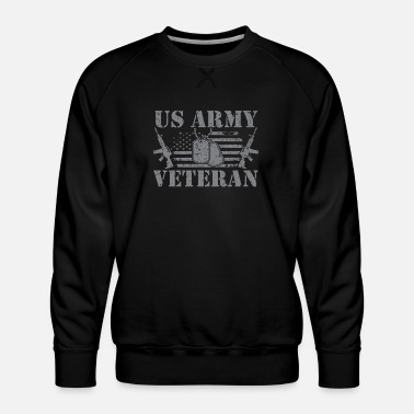 Us Army US Army Veteran - Men's Premium Sweatshirt