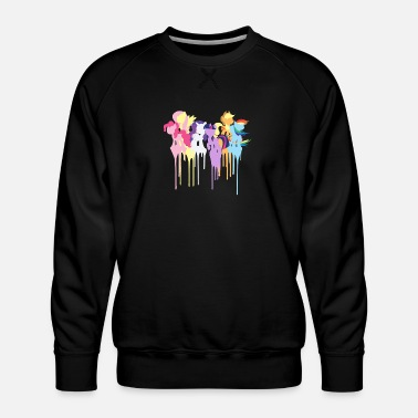 Dash My Little Pony Mane 6 - Men's Premium Sweatshirt
