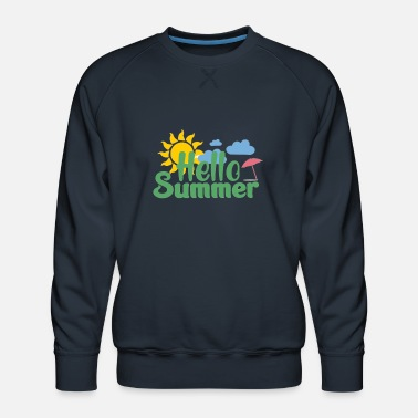 Hello Hello Summer - Men's Premium Sweatshirt