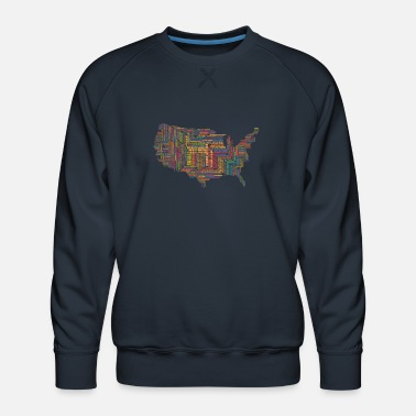 United States The United States - Men's Premium Sweatshirt