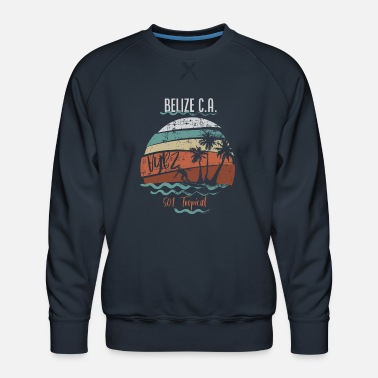 501 Tropical Belize - Men's Premium Sweatshirt