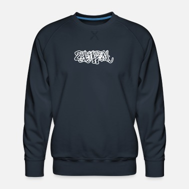Yemen Graffiti Outline - Men's Premium Sweatshirt