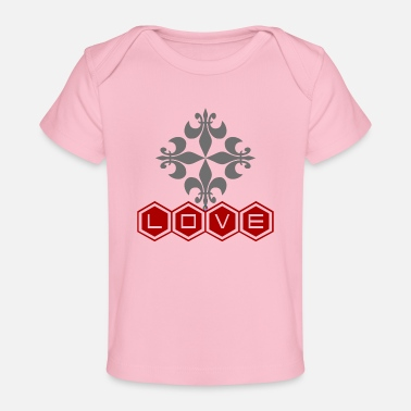 Love Cross - Baby Organic T-Shirt
