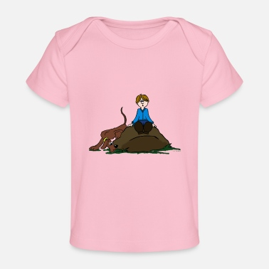 Search Search Dog - Baby Organic T-Shirt