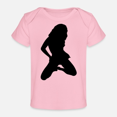 SEXY SILHOUETTE GIRL darr - Baby Organic T-Shirt