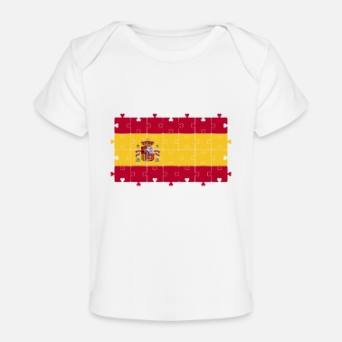 Flag Of Spanish Flag , Flag of Spain - Baby Organic T-Shirt
