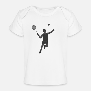 Badminton Players Badminton Player - Baby Organic T-Shirt