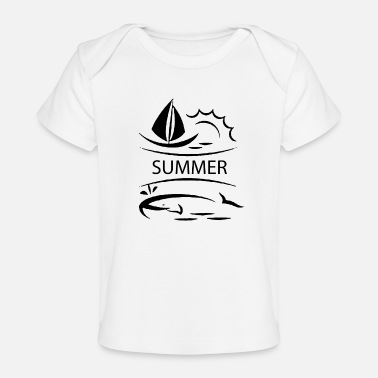Summer Fairy Tale summer - Baby Organic T-Shirt