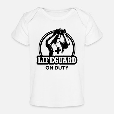 Duty Lifeguard on duty - Baby Organic T-Shirt