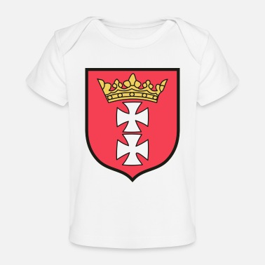 Coat Of Arms Gdańsk Coat Of Arms - Baby Organic T-Shirt