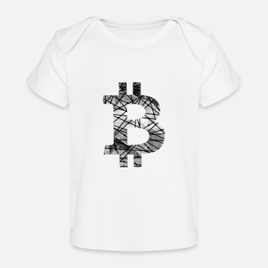 World Wide Web Bitcoin number one. Bitcoin T-shirt Cryptocurrency - Baby Organic T-Shirt
