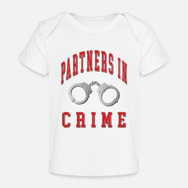 Partner Partners in Crime - Baby Organic T-Shirt