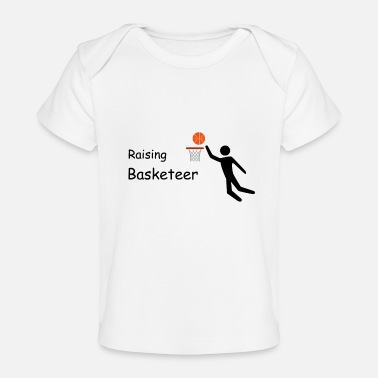 Basket Raising Basketeer Basket Ball Artwork - Baby Organic T-Shirt