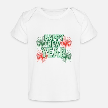 Missile HAPPY NEW YEAR - Baby Organic T-Shirt