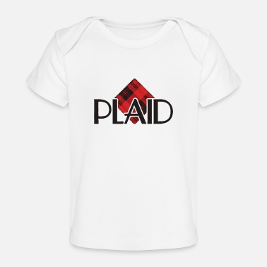 Plaid plaid - Baby Organic T-Shirt