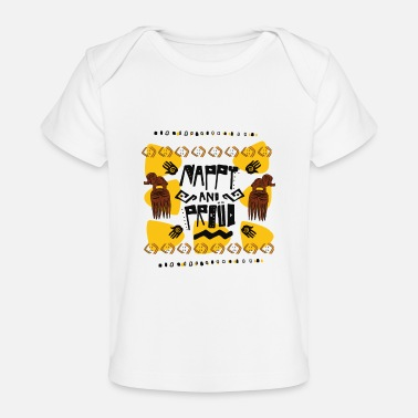 Nappy nappy and proud - Baby Organic T-Shirt