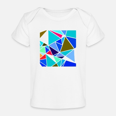 Form colorful mosaic - Baby Organic T-Shirt