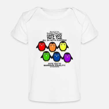 Marriage Equality Vote Yes Marriage Equality - Baby Organic T-Shirt