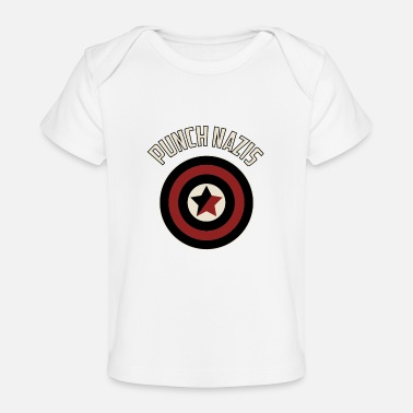 Antifascist Punch Nazis - Baby Organic T-Shirt