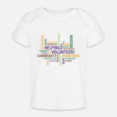 Word words - Baby Organic T-Shirt