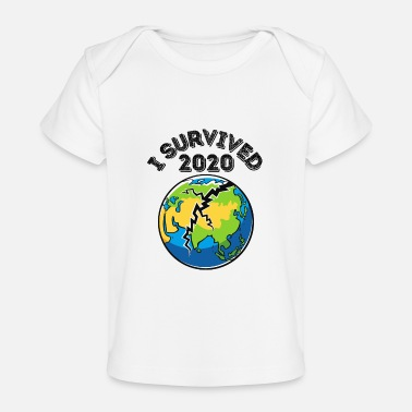 Class Of Quarantined I Survived 2020 - Baby Organic T-Shirt