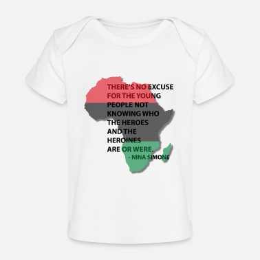 Red HEROS AND HEROINES TEE WI - Baby Organic T-Shirt