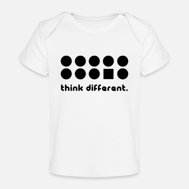 Different THINK DIFFERENT - Baby Organic T-Shirt